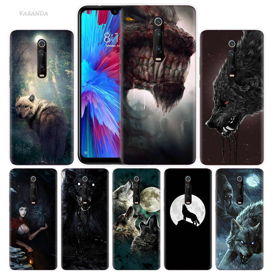 The Sirius WOLF Case for Xiaomi Redmi Note 7 K20 CC9 7S S2 6 6A 7A 5 Pro MI Play CC9E 9T A1 A2 8 Lite F1 Phone Cover