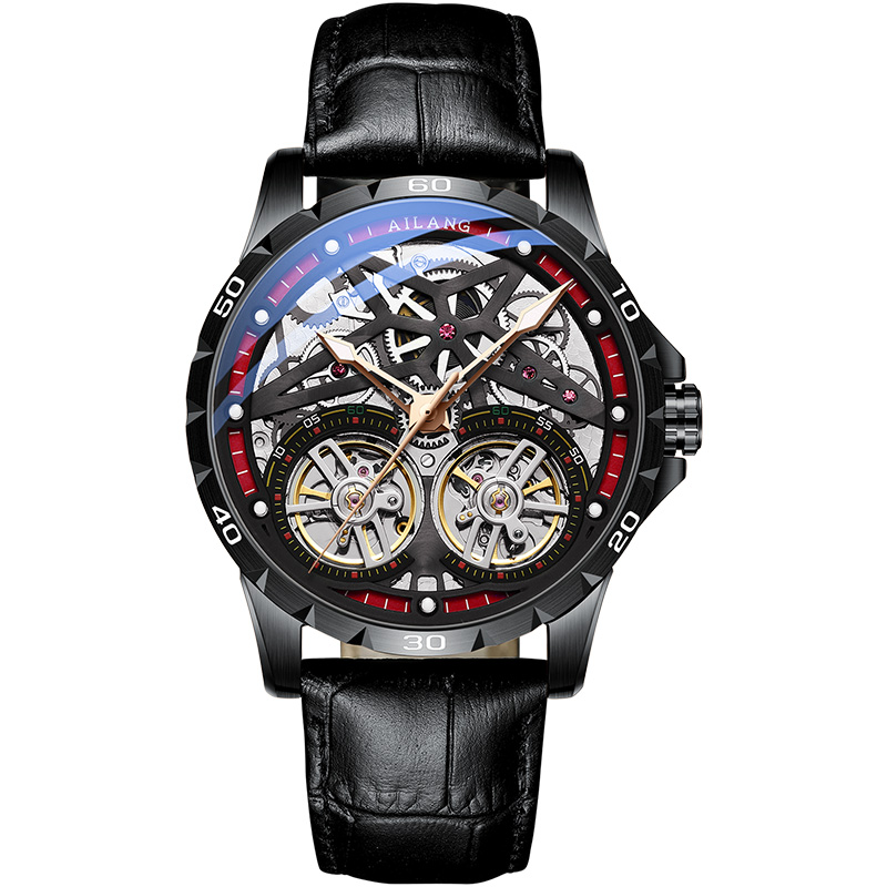 AILANGMen's Watches 2019 Top Luxury Brand Fashion/Military Automatic Mechanical Waterproof Sports Watch Men Clock Montre Homme|Mechanical Watches| |  - title=