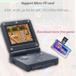 Image 2 - Retro mini estação de jogo 32 bit 268 clássico jogo handheld console suporte downlaoding jogos