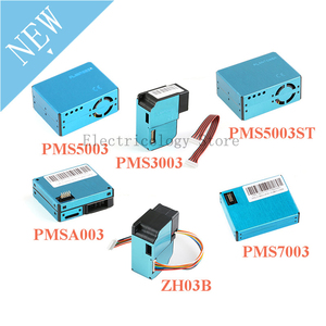 Модуль датчика PMS5003 PMS7003 PMS5003ST PMS3003 PMSA003 ZH03B PM2.5, воздушно-пылезащитный лазерный датчик, Подошвенный электронный DIY датчик