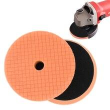 5Pieces/set 6 Inch Waxing Sponge Car Polishing Kit Car Polish Buffing Pad Abrasive Car Wax Disc Sponge Foam Pads