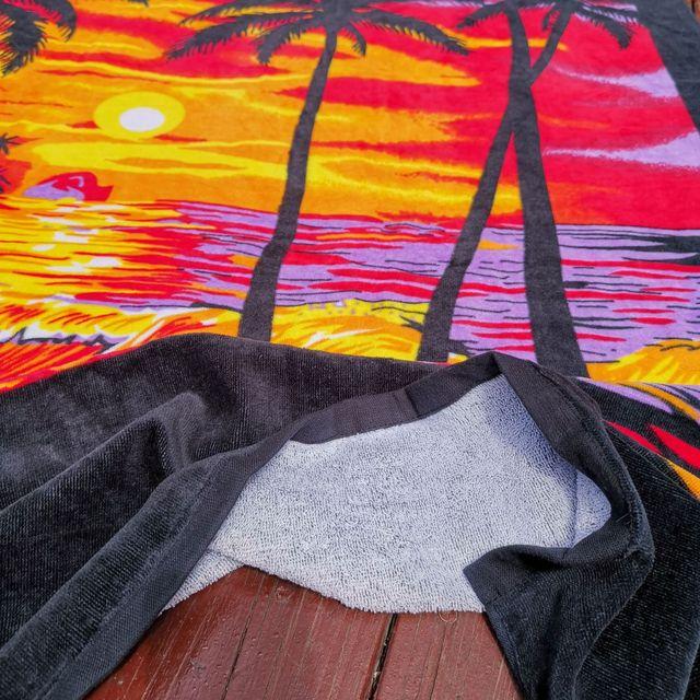 New Zealand island Style Cotton Beach Towel, Big Size Bath Towel,Water Absorption Beach towels, Bathroom Travel Towels 180x105cm 2