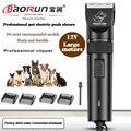 BaoRun S1 Electric Dog Clipper Professional Pet Shaver High Power Cat Grooming Trimmer Pets Haircut Mowerr Hair Cutting Machine