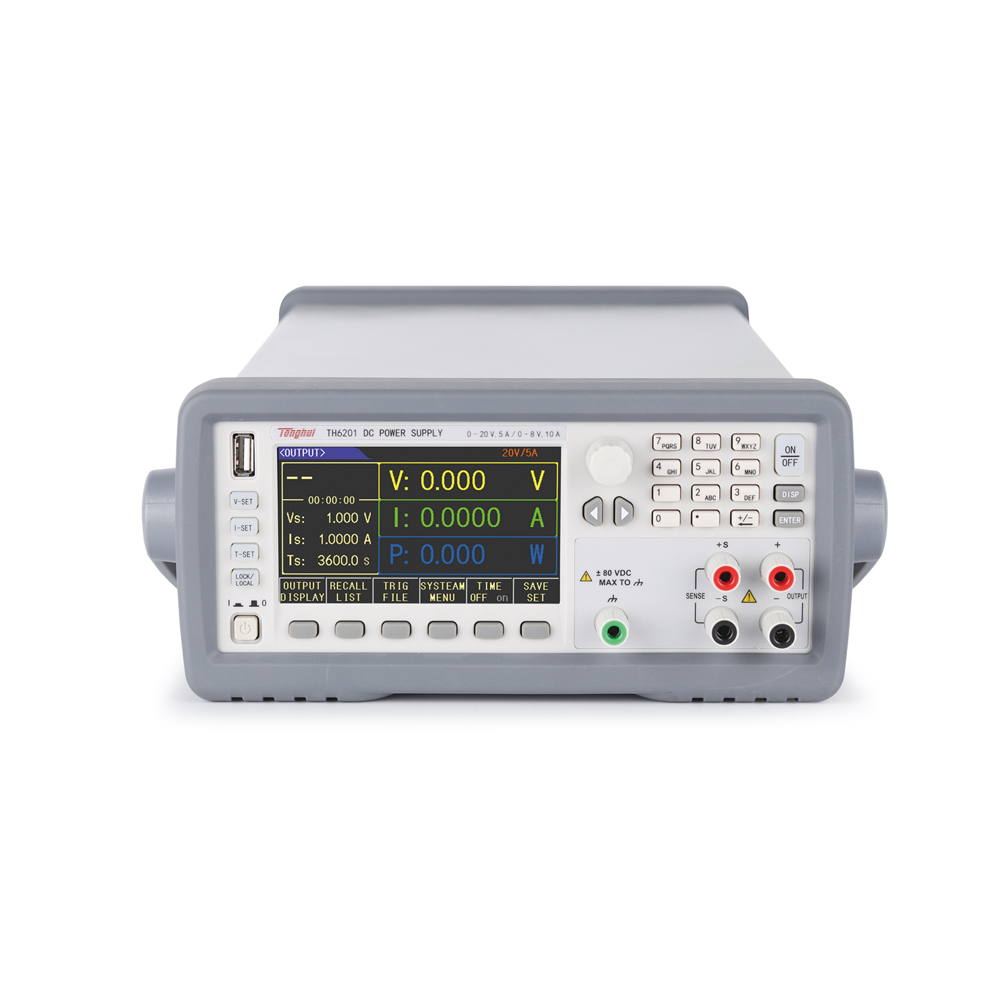 Tonghui TH6213 Double Range Programmable Linear DC Power Supply 1
