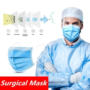 DHL ship 500pcs Aseptic Medical Surgical Mask Disposable Mask Face Mouth Masks Safety Mouth Surgical Mask Personal Protection