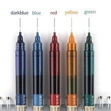 Gel-Pens Liquid-Rollerball-Pen 1pcs 5-Colors Diy-Supplies Scrapbooking Retro High-Capacity