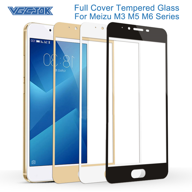 9H Hardness Tempered Glass For Meizu M3 Mini M3S M3E M5C M5S MX6 M6S M6T Screen Protector M3 M5 M6 Note Glass Protective Film