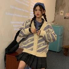 Женские вязаные свитера с v образным вырезом jk женская одежда