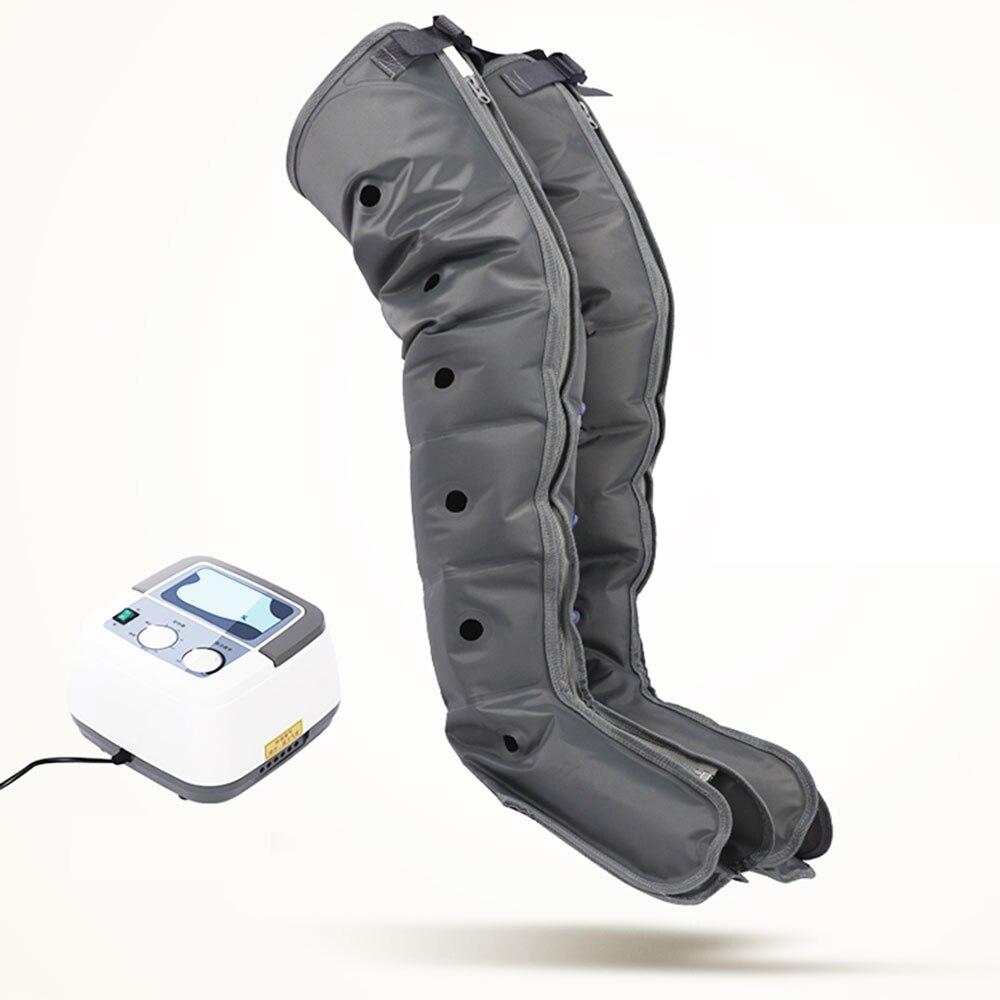 Seis-cavidade perna pneumática massageador fisioterapia instrumento braço