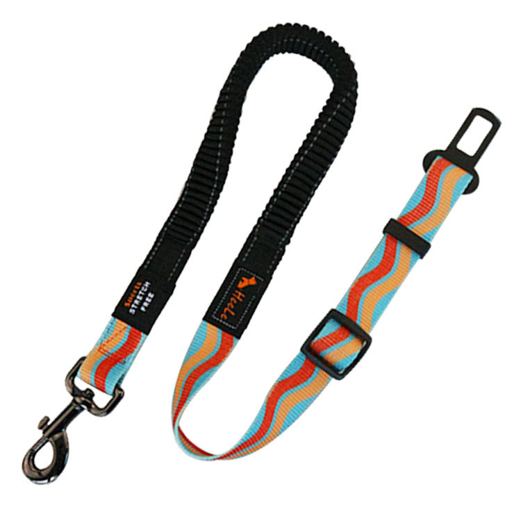 Fashion Matching Color Proof Punch Adjustable Sit Car Of Dog Safety Belt [Cool]