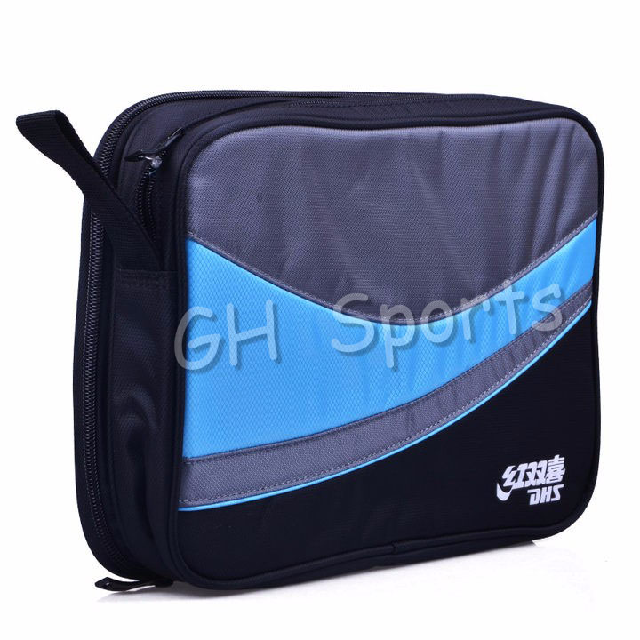 DHS Original Table Tennis Bag (Double Layers, For 2 Rackets) Ping Pong Case