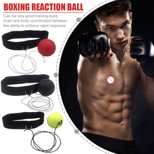 Speed-Ball Headband Boxer-Raising Hand-Training-Ball Reaction MMA Boxing-Reflex Muay-Thai
