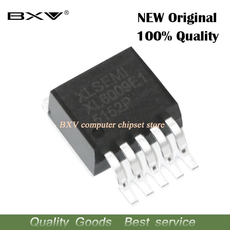 5 pces xl6009 to263 xl6009e1 to-263 impulso conversor de potência dc chip novo e original