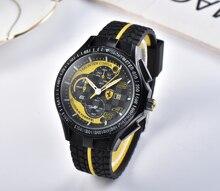 Новый бренд FERRARI WORLD, высококачественные мужские часы, модные часы, роскошные спортивные часы для мужчин и женщин, парные часы