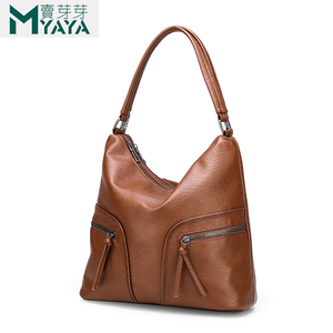 Image 2 - MAIYAYA Brand Soft PU Leather Women Handbags Big Capacity Shoulder Bags High Quality Designer Ladies Hand Bags Women 2019