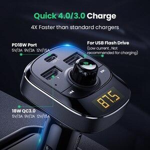 Image 5 - UGREEN cargador USB tipo C para coche, cargador PD de carga rápida 4,0 3,0, para iPhone 11, cargador de teléfono móvil