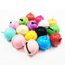 10pcs! 22mm Metal Jingle Bells Painted Color for DIY Keychain pet dog Christmas tree Decor Crafts Accessories Ornaments bead