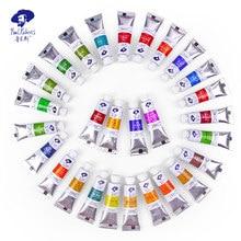 Oficjalny dostawca sztuki Paul Rubens Aquarelle Caroline Series 5ml farby akwarelowe tuby 40 kolorów Pigment dla początkujących