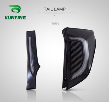 Car Tail Light Assembly For  Honda fit 2014-2017 Brake Light With Turning Signal Light Car led Tail light