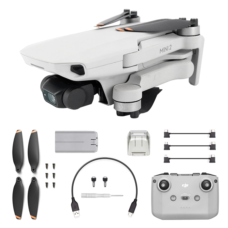 H9bc4f897fa2045bcaf898f824ca5b5a6T - DJI Hot Sale Mini 2 Drone with 4K/30fps Camera and 4x Zoom 10km Transmission Distance Mavic Mini 2 Brand New Original