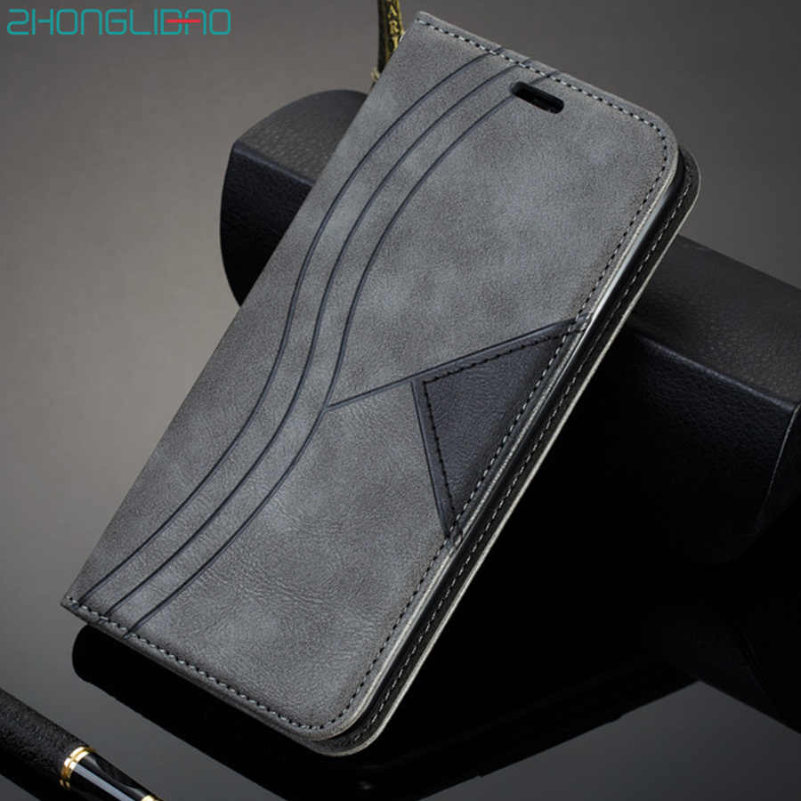 Magnetische Leather Case Voor Samsung Galaxy S20 Ultra S10 S9 S8 Note 20 10 9 8 Plus A50 A10 A31 a70 A21s A20e M31 Wallet Flip Cover