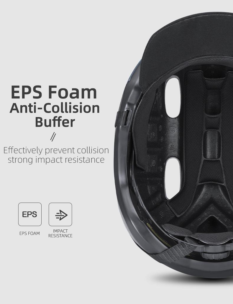 ROCKBROS Bike Helmet Breathable EPS Integrally-molded Bicycle Unisex Shockproof Helmet Adjustable Hat Cycling Equipment