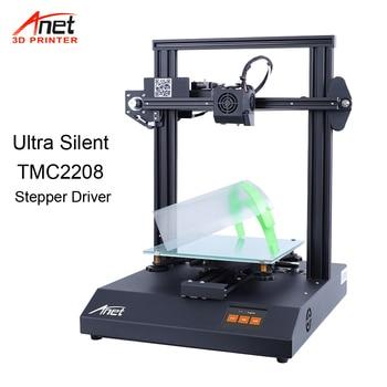 Anet High Precision A8 A6 Auto level Reprap i3 Impresora 3D Printer Multi-language Big Print Size Gift PLA Filament 8GB SD Card