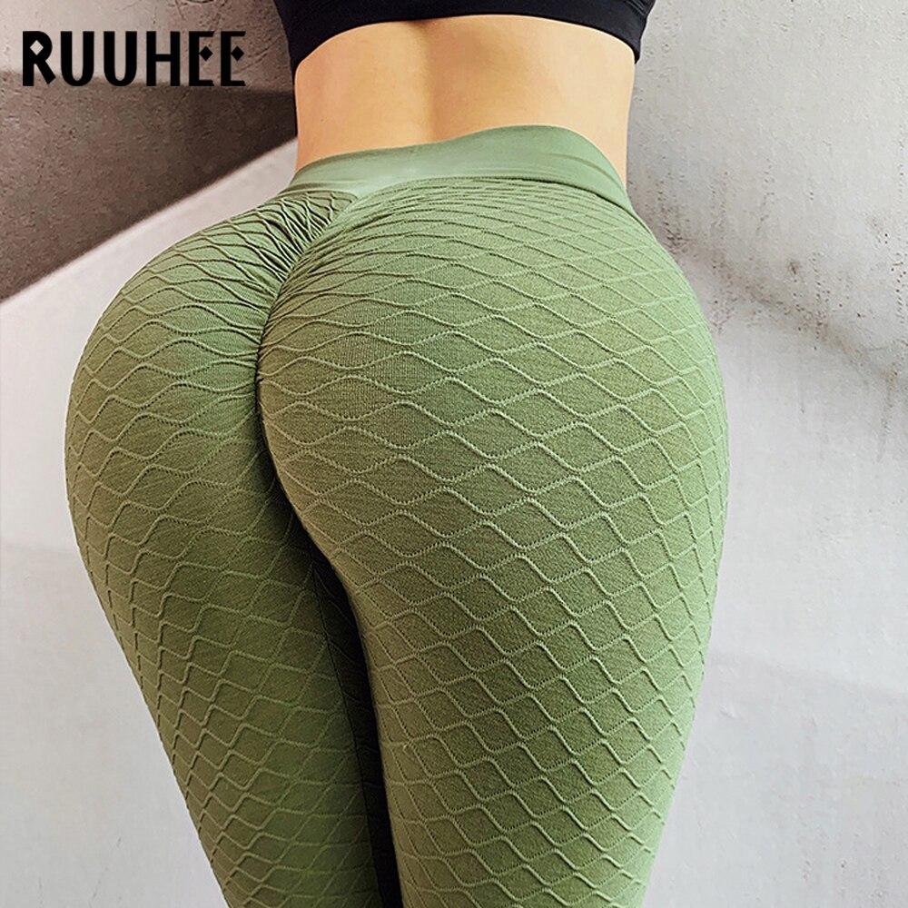 RUUHEE 2020 Tight Leggings Hip Rais Sports Women Fitness High Waist Yoga Pant Stretch Workout Gym Leggings Abdomin Slim Leggings