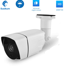 цена на Outdoor CCTV AHD Bullet Camera Waterproof 2MP 4MP HD Security Camera With IR-CUT IR Night Vision OSD Menu Analog Camera HD
