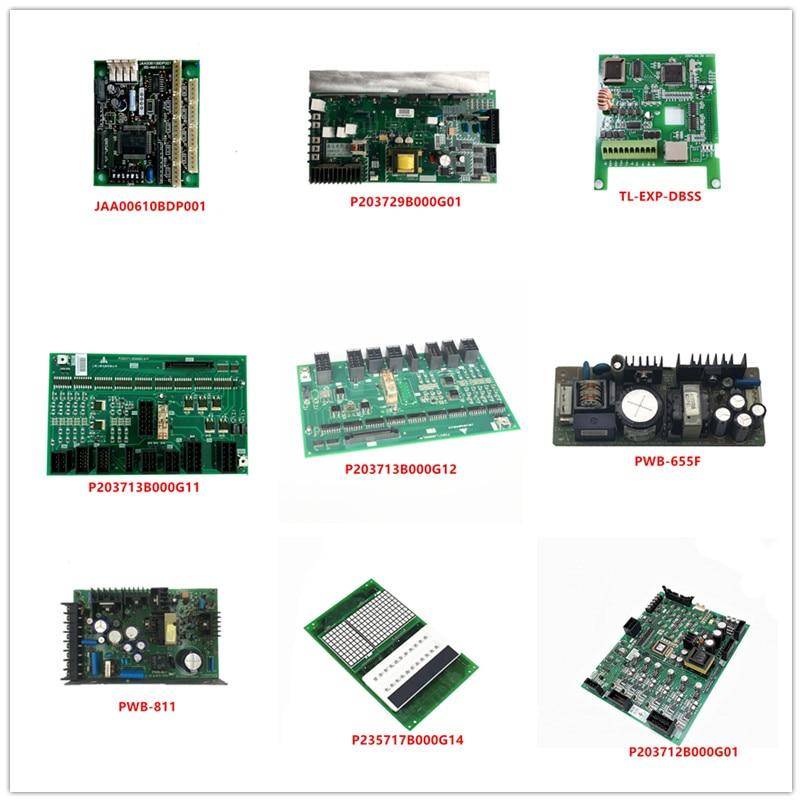 G-069B P203729B000G01 TL-EXP-DBSS P203713B000G11 P203713B000G12 PWB-655F/811 P235717B000G14 KCR-990B P203712B000G01 Used