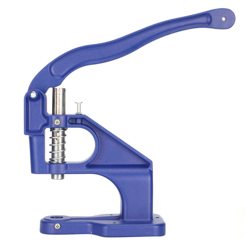 Grommet Tool Multi‑Function Aluminum Hand Press Machine Strong for Five-Claw Buttons I-Shaped Buttons Rivet Buttons Home