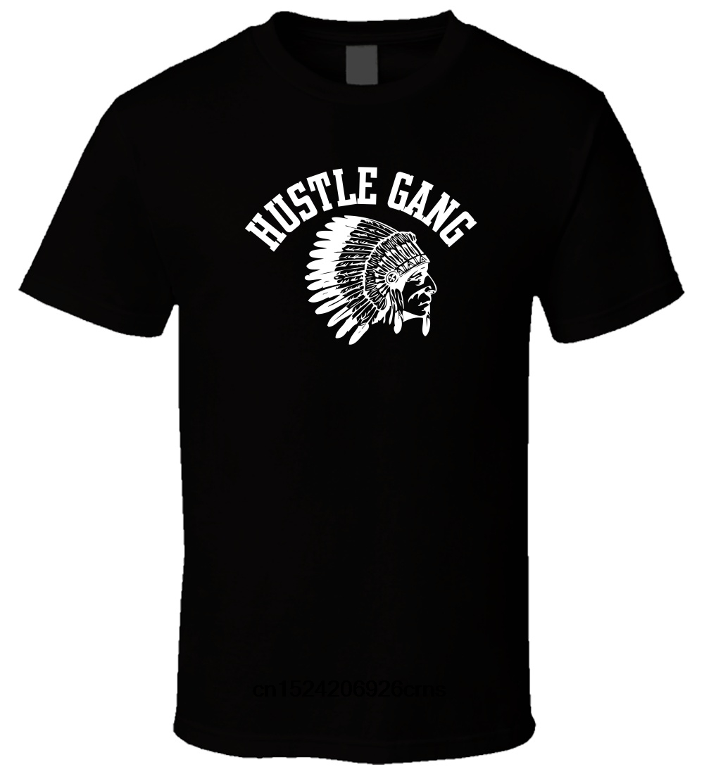 2XL New Hustle Gang Grand Hustle Graphic Black Or White T-shirt Shirt Tee XS