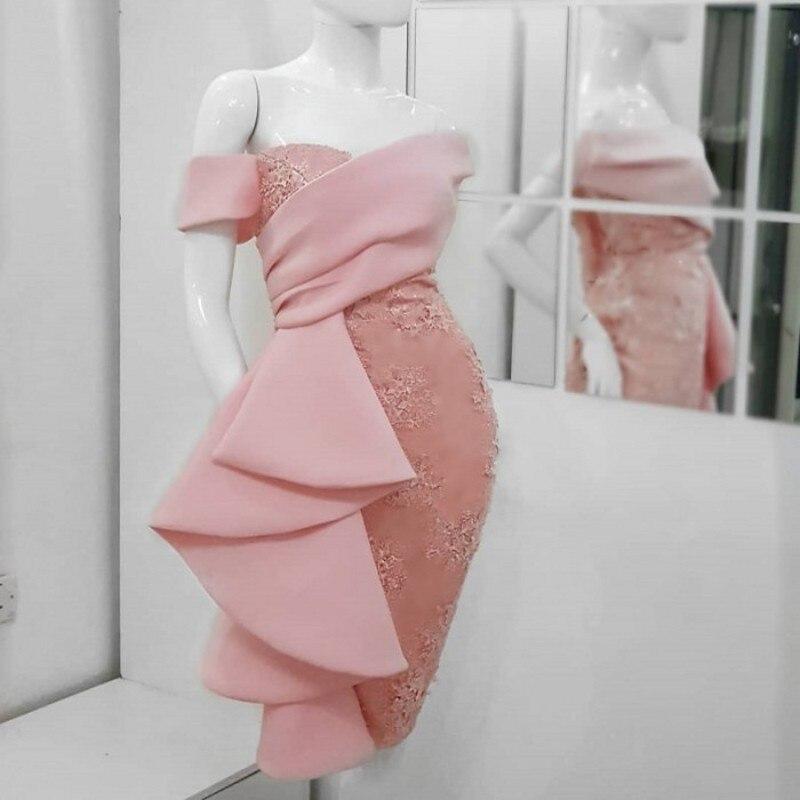 Robe De Soiree Abendkleid Evening Formal Dress Gown Long 2019 Short Prom Cocktail Dresses