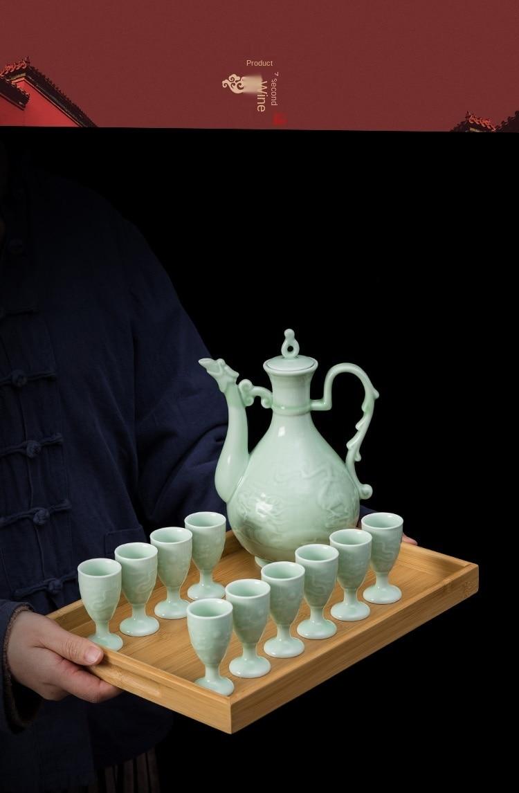 copos de licor doméstico jarro chinês divisor