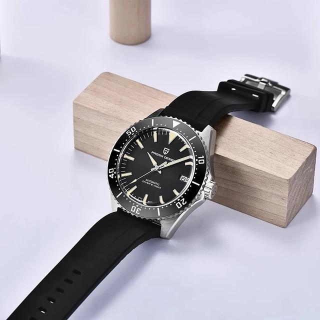 часы pagani design мужские механические брендовые водонепроницаемые фотография