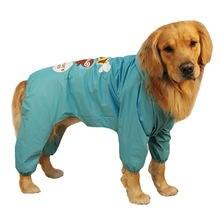 Водонепроницаемый дождевик для собак одежда больших и самоида