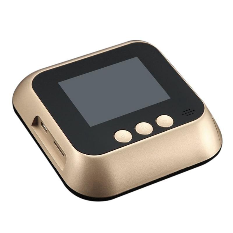 2,8 дюймов Lcd датчик движения 160 градусов глазок ИК ночной дверной глазок камера фото/видео запись цифровая дверная камера