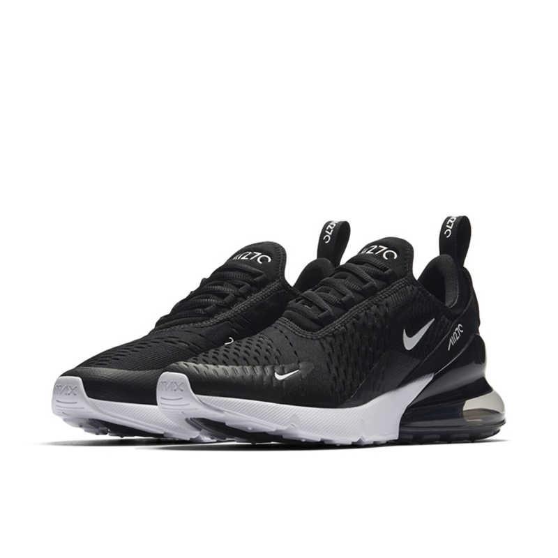 Оригинальный Nike Оригинальные кроссовки AIR MAX 270 Для женщин Беговая спортивная обувь кроссовки для прогулок хорошее качество удобные босоножки на низком каблуке, AH6789-700