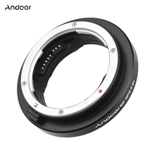 Andoer EF GFX Camera Lens Adapter Ring Auto Focus for Canon EF mount Lens to FujiFilm GFX mount MED format Cameras GFX100 GFX50R