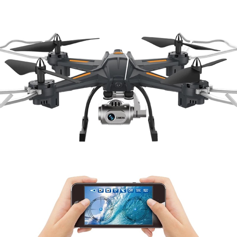 XY-S5 Camera Drone Quadrocopter Wifi FPV HD Real-time 2.4G 4CH RC Helicopter Quadcopter RC Dron Toy Flight Time 15 Minutes