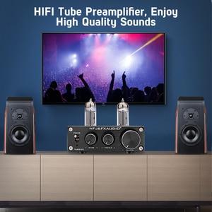 Image 5 - FX Audio TUBE 03 MINI Bile Preamp Tube Amplifier Buffer HIFI Audio Preamplifier With Treble Bass Adjustment Pre amps