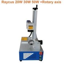 20w Fiber laser marking machine Raycus source 110x110mm Galvo