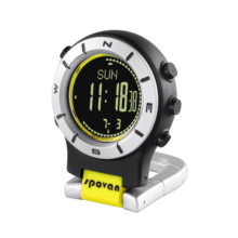Outdoor sports watch hanging smart riding hiking with air pressure height tracker 16-digit compass