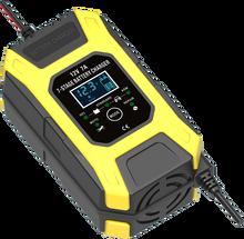 FOXSUR 12V 7A 7 שלב דופק סוללה תשלום, עמוק מחזור EFB ג ל רטוב AGM רכב אופנוע סוללה מטען, מתחזק & Desulfator