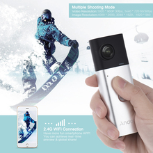 Andoer A360I Handheld 360 Camera Panoramic WiFi 360 Video Camera Action Sports Cam Dual 200D Spherical Lens 1920*960 Full HD