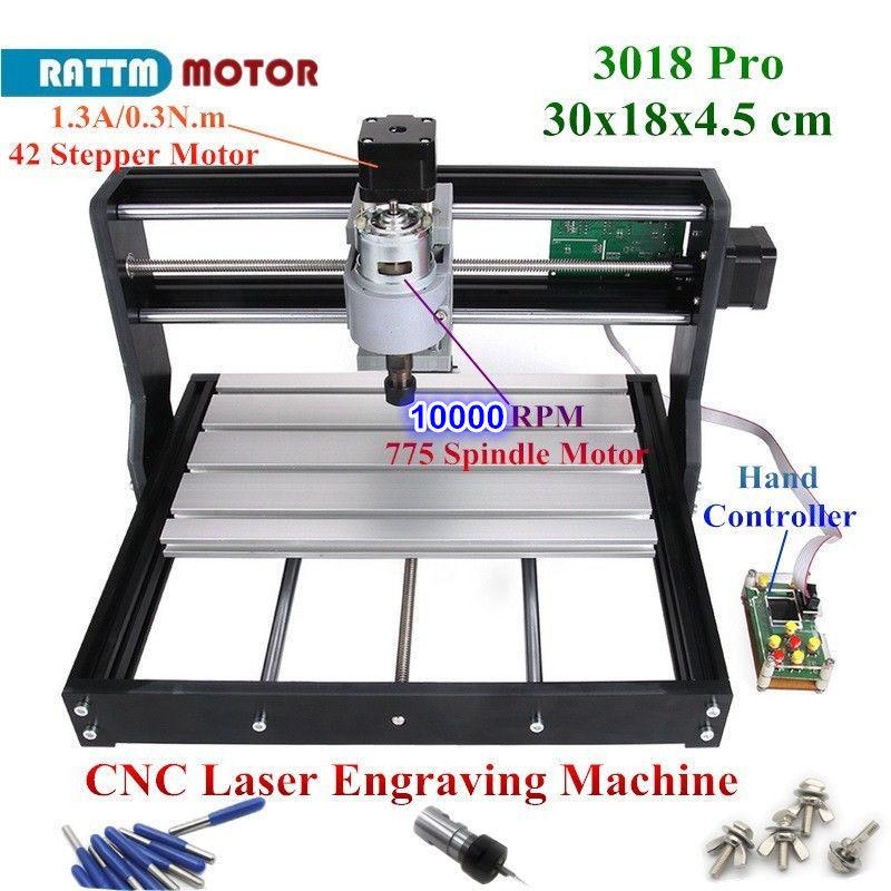 CNC 3018 Pro GRBL Control 3 Axis DIY Mini Machine Pcb Pvc Laser Engraving Milling Machine Wood Router