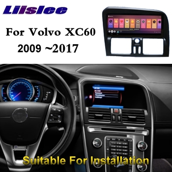For Volvo XC60 XC 60 2009~2017 NAVI LiisLee Car Multimedia Palyer GPS WIFI Audio CarPlay Adapter 8.8 inch Radio Navigation image