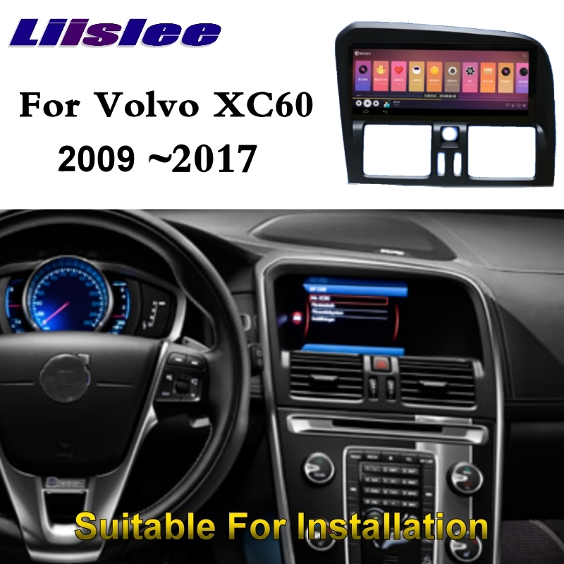 For <font><b>Volvo</b></font> XC60 <font><b>XC</b></font> <font><b>60</b></font> 2009~<font><b>2017</b></font> NAVI LiisLee Car Multimedia Palyer GPS WIFI Audio CarPlay Adapter 8.8 inch Radio Navigation image