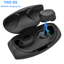 New Bee Wireless Headphones Bluetooth 5.0 TWS HIFI Handsfree Bluetooth Earphone Mini In ear Headset for Sports Running/Gaming