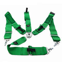 """4 Point Snap-On 3"""" Racing Seat Belt Harness With Camlock TA Style Drift Serie Safety Strap Harness for Universal Car"""